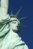 Statue Liberty Face diagonal stock image
