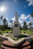 Statue of Liberty,Guam, Hagatca,Agana Royalty Free Stock Photos