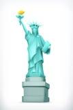 Statue of Liberty  illustration Royalty Free Stock Photo