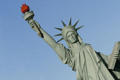 Statue of liberty - imitation Royalty Free Stock Images