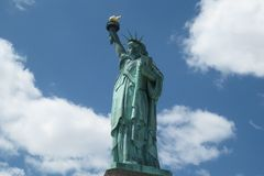 Statue of Liberty, Liberty Island. Statue of Liberty on Liberty Island, New York City in May 2011 stock photo