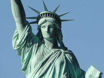 Statue of Liberty. On Liberty Island in New York City, NY, USA royalty free stock photography