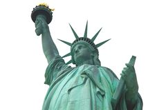 Statue of Liberty isolated, New York Royalty Free Stock Images