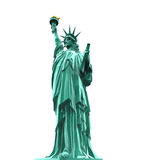 Statue of Liberty Isolated Stock Photography