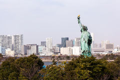 Statue of Liberty in Japan Royalty Free Stock Image