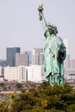 Statue of Liberty in Japan Stock Photo
