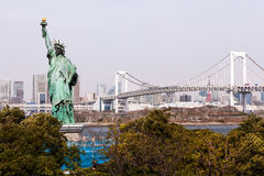 Statue of Liberty in Japan Royalty Free Stock Photography