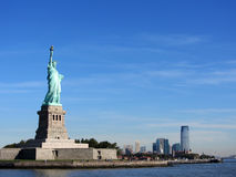 Statue of Liberty and Jersey Stock Photo