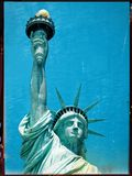 Statue of liberty closeup textured. Statue of liberty or Lady Liberty closeup textured Royalty Free Stock Image