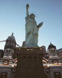 Statue of Liberty Las Vegas. Symmetrical Shot of the Statue of Liberty Las Vegas Royalty Free Stock Images