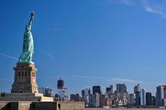 The statue of Liberty, Landmarks of New York City stock image