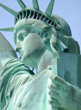 Statue of Liberty, Liberty Island, New York City. United States of America royalty free stock photo