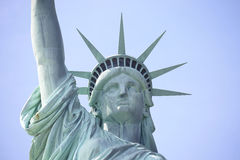 Statue of Liberty on Liberty Island in New York Harbor, in Manhattan, NY Stock Photography