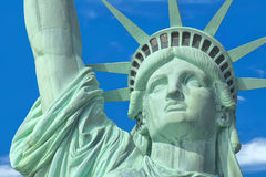Statue Of Liberty - Manhattan - Liberty Island - New York Stock Image