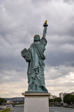 Statue of Liberty model in Paris Royalty Free Stock Images