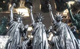 Statue of liberty models for sale Royalty Free Stock Photos