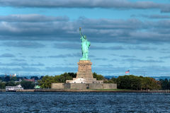 Statue of Liberty in the morning. This is the Statue of Liberty in New York City Royalty Free Stock Photography