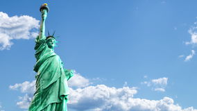 The Statue of Liberty stock footage
