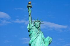 Statue of Liberty National Monument in New York, USA