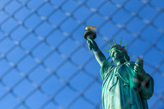 Statue of Liberty. New York stock photo