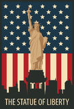 Statue of Liberty in New York Stock Photography
