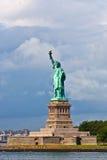 Statue of Liberty in New York City. Manhattan Hudson River Stock Image