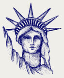 Statue of Liberty in New York City Royalty Free Stock Photos