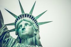 The Statue of Liberty at New York City Royalty Free Stock Photography
