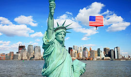 The Statue of Liberty, New York City Stock Photography
