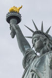 The Statue of Liberty in New York City.  Royalty Free Stock Photo
