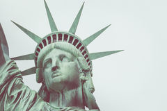 The Statue of Liberty in New York City.  Stock Images