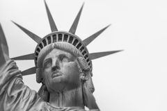 The Statue of Liberty in New York City.  Stock Image