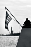 Statue of liberty in New York City Stock Photos