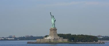 The Statue of Liberty, New York City Royalty Free Stock Photo