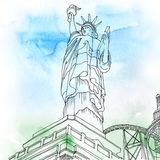 Statue of Liberty. New York City, United States Royalty Free Stock Photo