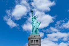 The Statue of Liberty, New York City, USA stock photography