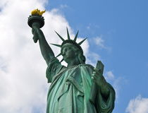 The Statue of Liberty in New York City Royalty Free Stock Image