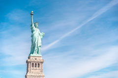 The Statue of Liberty in New York City. USA Royalty Free Stock Image