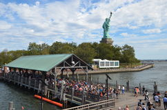 Statue of Liberty, New York City. USA royalty free stock photos