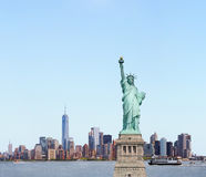 Statue of Liberty in New York City, USA Royalty Free Stock Image