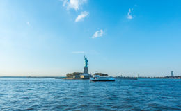 Statue of Liberty, New York City , USA . Royalty Free Stock Image