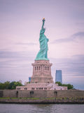 The statue of Liberty. Statue of liberty in New York City, USA Royalty Free Stock Photos