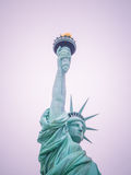The statue of Liberty. Statue of liberty in New York City, USA Stock Images