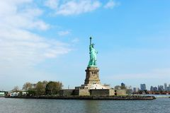 Statue of Liberty. Statue of Liberty in New York City,USA royalty free stock photos
