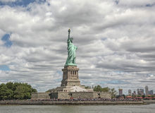 Statue Of Liberty. In New York Harbor Royalty Free Stock Images