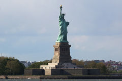 The Statue of Liberty in New York Harbor Stock Photos