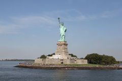 Statue of Liberty New York. Manhattan Stock Photo