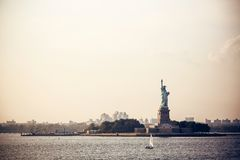 Statue of Liberty in New York Stock Images