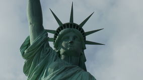 Statue of Liberty in New York - Time Lapse stock video footage