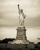 Statue of Liberty, NYC. View of Statue of Liberty in New York City, NY stock images